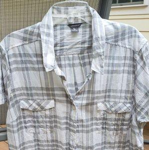 Short sleeve camp shirt